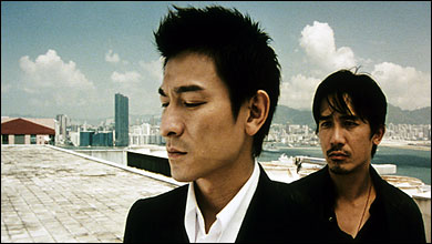 Tony Leung and Andy Lau