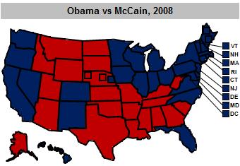 The 2008 Electoral College