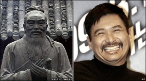 Confucius say smile if you will make millions off of Confucius.
