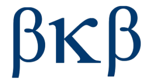 BETA KAPPA BETA. Since 1888.