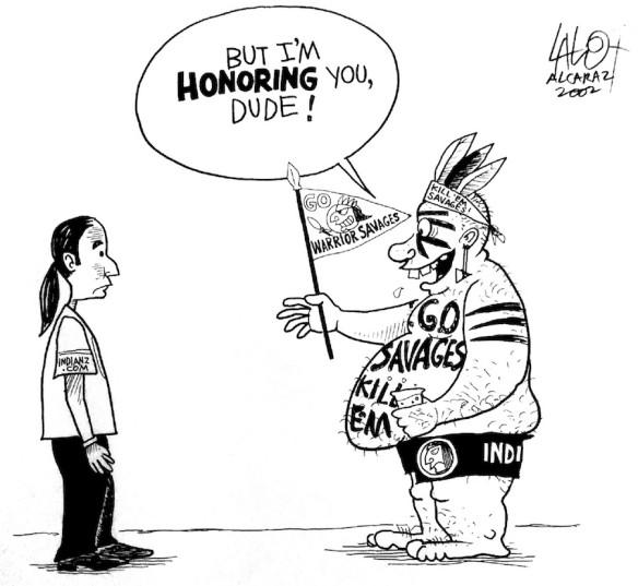 Cartoon by Lalo Alcaraz